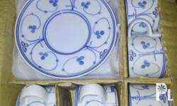 For sale cups and saucers,bowl and bathroom porcelain