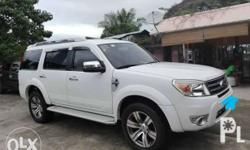 Ford Everest 2013 Limited Edition, Automatic, With GPS,