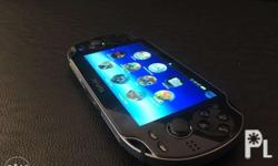 For Sale Fully Modified PS Vita With Lots of Games