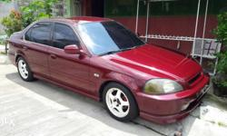For sale honda v-tec 98 model allpower window steering