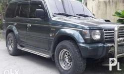 Pajero exceed 1992 model AT/DIESEL cold aircon all