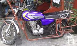 for sale rusi motorcycle 125 cc color blue registered