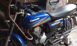 Motorcycle with side car, Kawasaki Barako 175cc in good