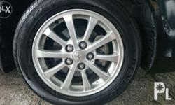 Stock mags/ wheels with tires Lancer Ex MX 2013 OEM.