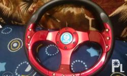 For sale only Not for swap Sparco steering wheel Red
