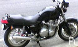 YAMAHA SECA xj750 shaft drive, air cooled engine,