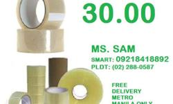 All types of tape (masking,packaging,double sided