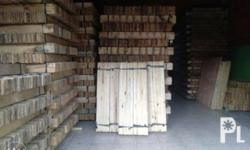 We sell and supply wood planks palochina in different