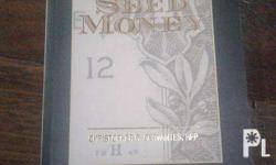 Books for sale: 1. The Seed Money - Christopher