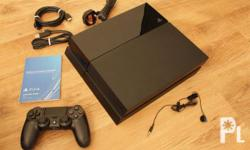 PS4 with free NBA2K15 DVD Game, Including controller,