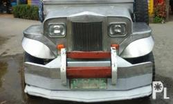 for sale private jeepney pure stainless pati sahig