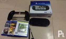 PS VITA complete package with free 3pcs games