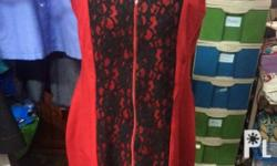 Red dress. Bought in a sale for only P600. Used 3x only