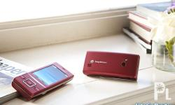 Deskripsiyon SONY ERICSSON HAZEL.. color red.. 100%