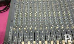 For Sale Soundcraft Spirit Folio 4 Mixer for Sale in Makati City