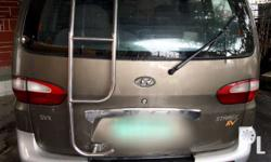 1997 starex automatic diesel local,brown,roofrack,