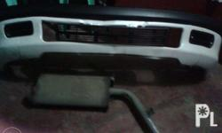 RUSH, for sale , front bumper, tambutcho, and 2pcs coil