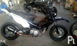 For sale or swap or trade, honda xrm with clutch, very