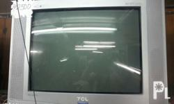 "21""colored tv,,all are in good condition and tested."