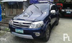 Toyota Fortuner V (4x4) 2006 model in a very good
