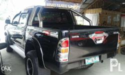 Toyota Hilux G 4x4 in a very good condition. With ARB