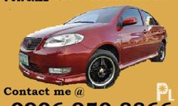 Description for sale : toyota VIOS 1.5G/AT, VVTI