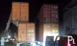 """""""X-MAS Sale Promo"""",Used Shipping Container in MANILA &"""