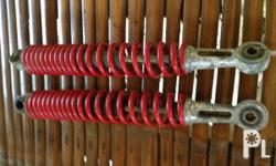 for sale used shock absorbers: red shock absorbers