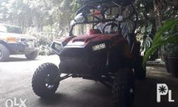 modified UTV for sale. upgraded exhaust to dual exhaust