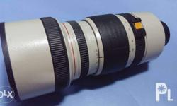 For sale Canon 8-120mm cl vl with hood & free extender