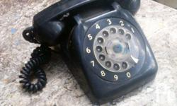 For sale vintage rotary phone,not working,selling as