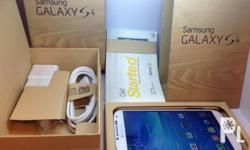 Samsung galaxy S4 64GB are Brand new Original fully