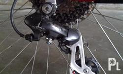 I'm selling the stock rear derailleur on my bicycle.
