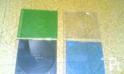 FOR SALE: SLIM CD CASE, 500 PIECES AVAILABLE! ASSORTED