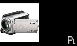 Description Sony Handycam DCR-SR47E PURCHASED LESS THAN