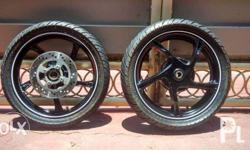 selling stock mags for mxi with stock tire, disc brake