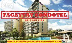 Become a Condotel Owner at Fora Tagaytay! A beautiful