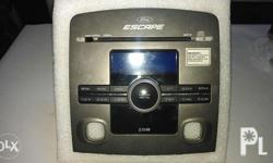 Ford escape xlt limited original car stereo model see