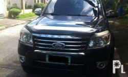 Ford Everest 2010 Manual All Stock running condition