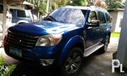 Ford Everest 2010 model 4x2 Casa maintained Pwd pa