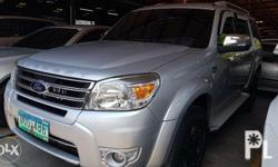 Ford Everest 2013, automatic trans, 4x2 diesel 2.5L
