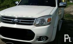 Rush rush sale Ford everest 4x2 2014 In very good