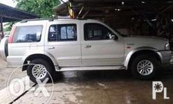 Ford Everest, 2008 model, automatic transmission,