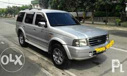 2005 ford everest automatic diesel cd leather seats