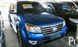 Vehicle Options 2010 Ford Everest Year: 2010 Mileage: 1