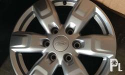 Almost brand new Ford Everest Ambiente oem rims 17