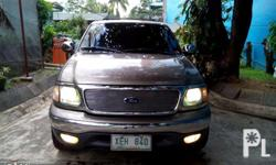 "-Ford Expedition XLT 2002 Model -22"" Chrome Mags -Beige"