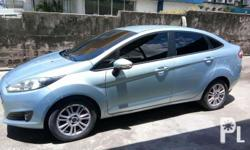 Ford Fiesta 2014 automatic transmission all powered