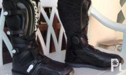 Used Forma MX Motorcycle adventure riding boots, size