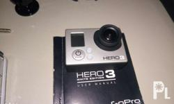 Forsale my almost new gopro hero3 A1 CONDITION, no
